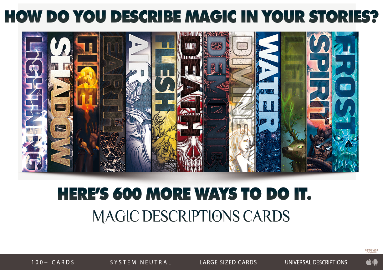 Magic Description Cards 600+ WAYS TO DESCRIBE MAGIC AND CASTING